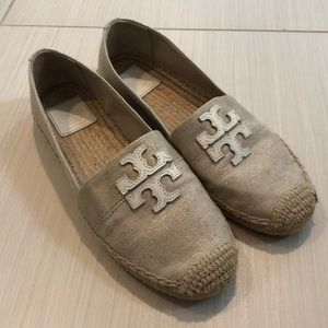 Tory Burch Espadrille Flats Size 8